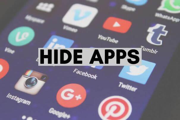 كيفية, إخفاء, التطبيقات, على, Android