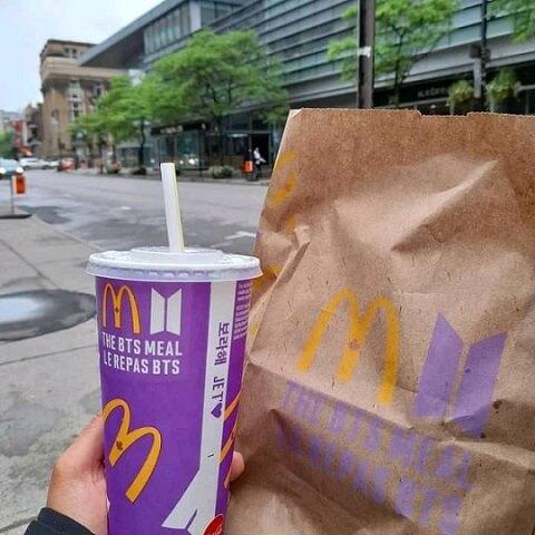 BTS Meal, Mc Donald's Tidak Menjual Nugget