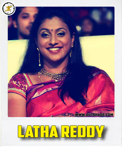 Latha Reddy is the real name of Roja