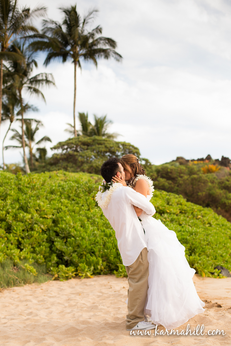 Kate  Tims Super Sunset  Maui Wedding Preview by Simple