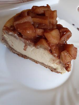 Cheesecake de iogurte grego