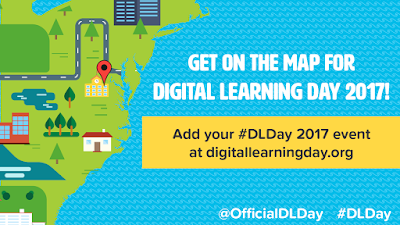 Get the map for Digital Learning Day 2017! Add your #DLDay 2017 event at digital learning day dot org