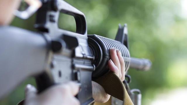 penembakan, pilkada, polisi