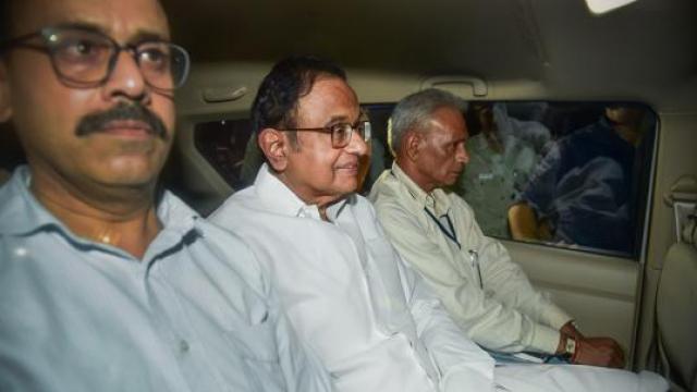 INX मीडिया केस में पूर्व वित्त मंत्री पी चिदंबरम गिरफ्तार