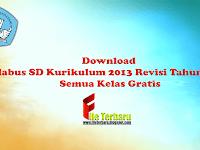 Download Silabus SD Kurikulum 2013 Revisi Tahun 2016 Semua Kelas Gratis