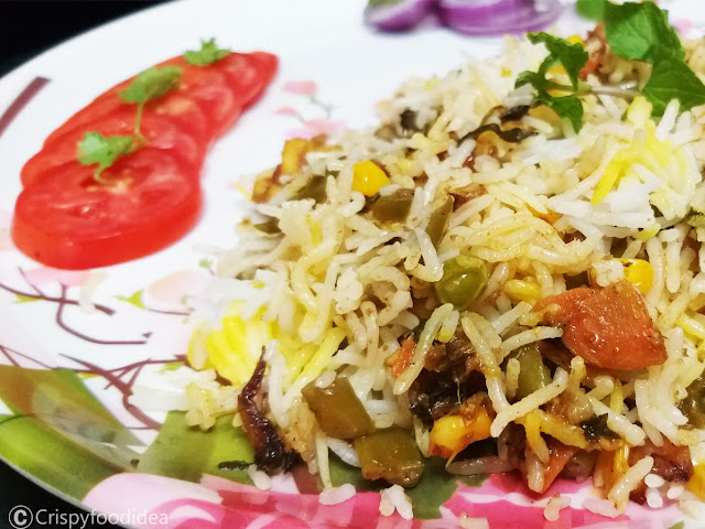 easy veg biryani recipe