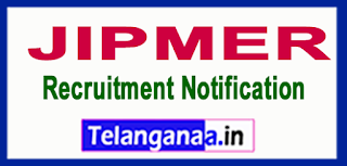 Jawaharlal Institute of Postgraduate Medical Education Research JIPMER Recruitment Notification 2017 Last Date 14-06-2017