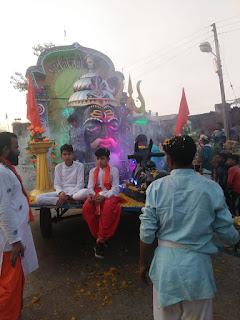 धरमपुरी नगर के राजा 'जागीरदार' श्री बिल्वामृतेश्वर महादेव की शाही सवारी