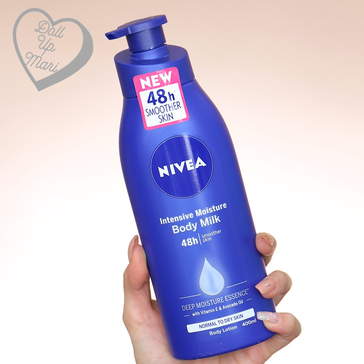 Nivea Intensive Moisture Body Milk 400mL