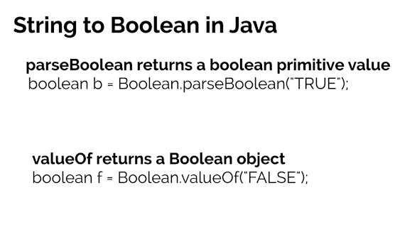Java - Convert String to boolean