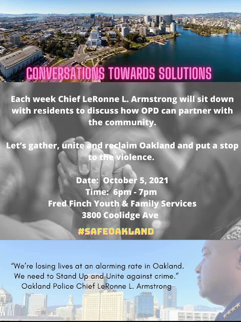 Flyer for Conversations Toward Solutions