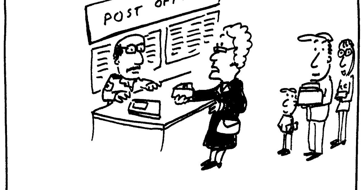 Berry Cartoons Post Office Cartoon