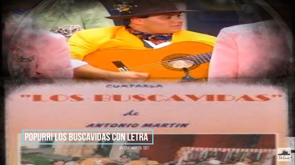 """✅Popurri """"LOS BUSCAVIDAS"""" → CON LETRA → Antonio Martín🔥 (1997)"""