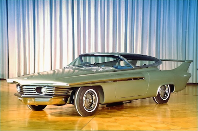 Chrysler Turboflite 1960s American classic concept car