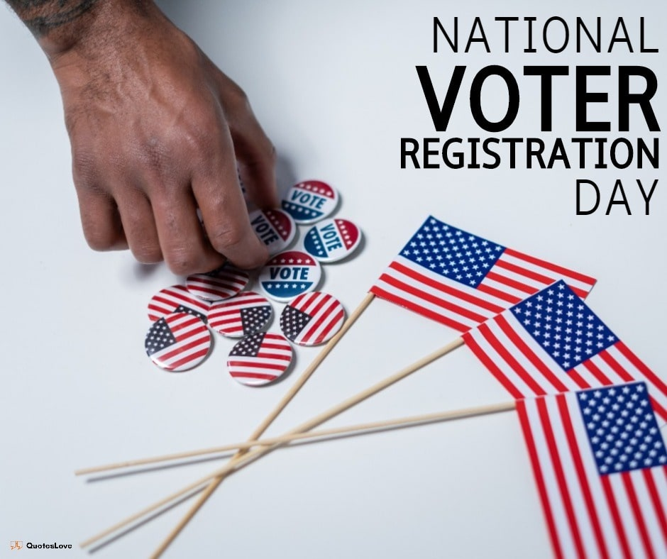 national voter registration day Quotes, Images