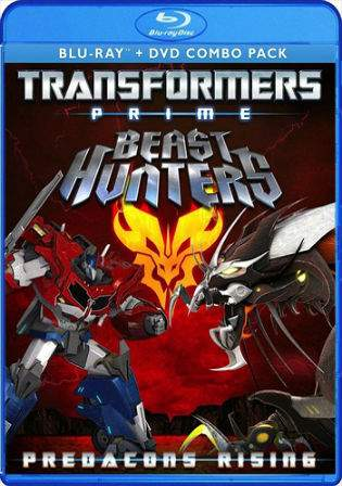 Transformers Prime Beast Hunters Predacons Rising 2013 BRRip Hindi 200MB Dual Audio 480p Watch Online Full Movie Download bolly4u