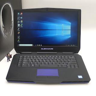 Jual Laptop Gaming Alienware 15 R2 intel Core i7-6700HQ Bekas