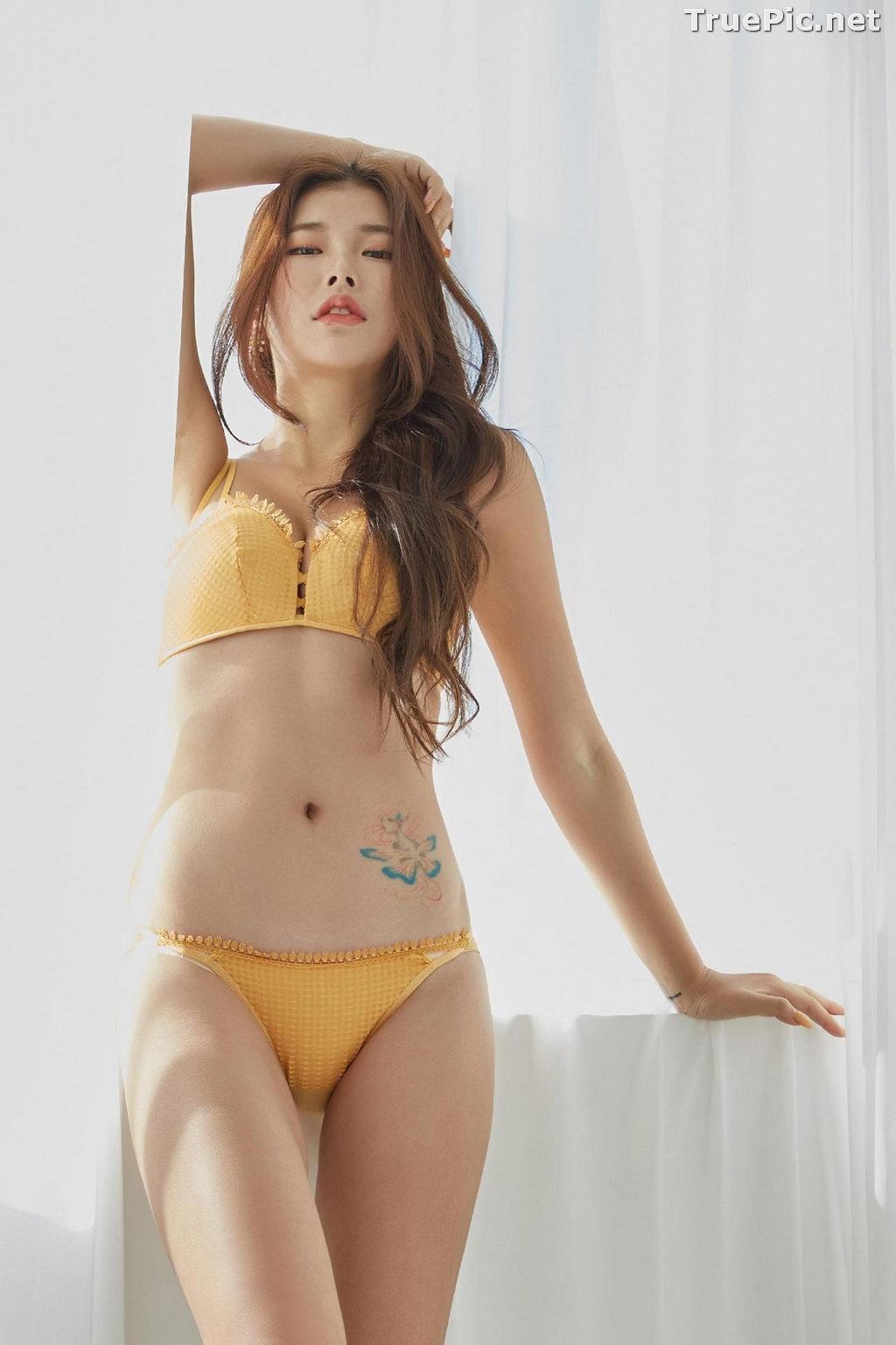 Image Korean Fashion Model – Da Yomi (다요미) – Lountess Spring Lingerie #3 - TruePic.net - Picture-9