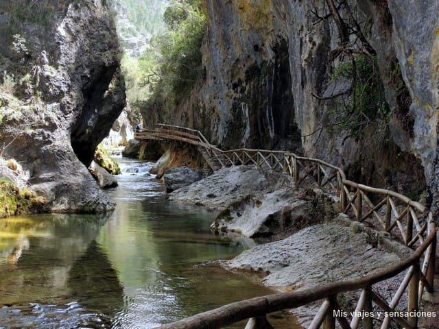Cerrada de Elías, nacimiento del río Borosa, Sierra de Cazorla, Andalucía