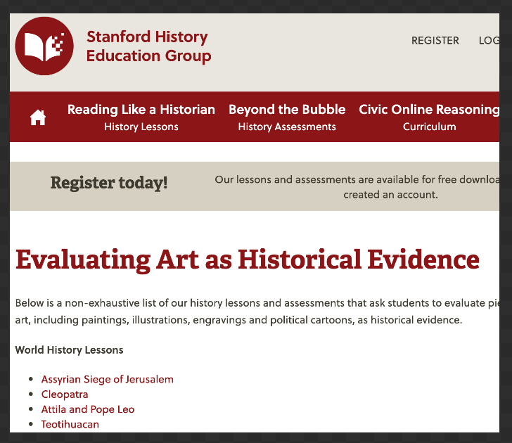 Free Teaching Resources for History Teachers   Educational Technology and Mobile Learning
