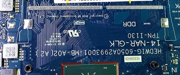 6050A2993001-MB-A02 Hp 14-CF 14-DF Bios