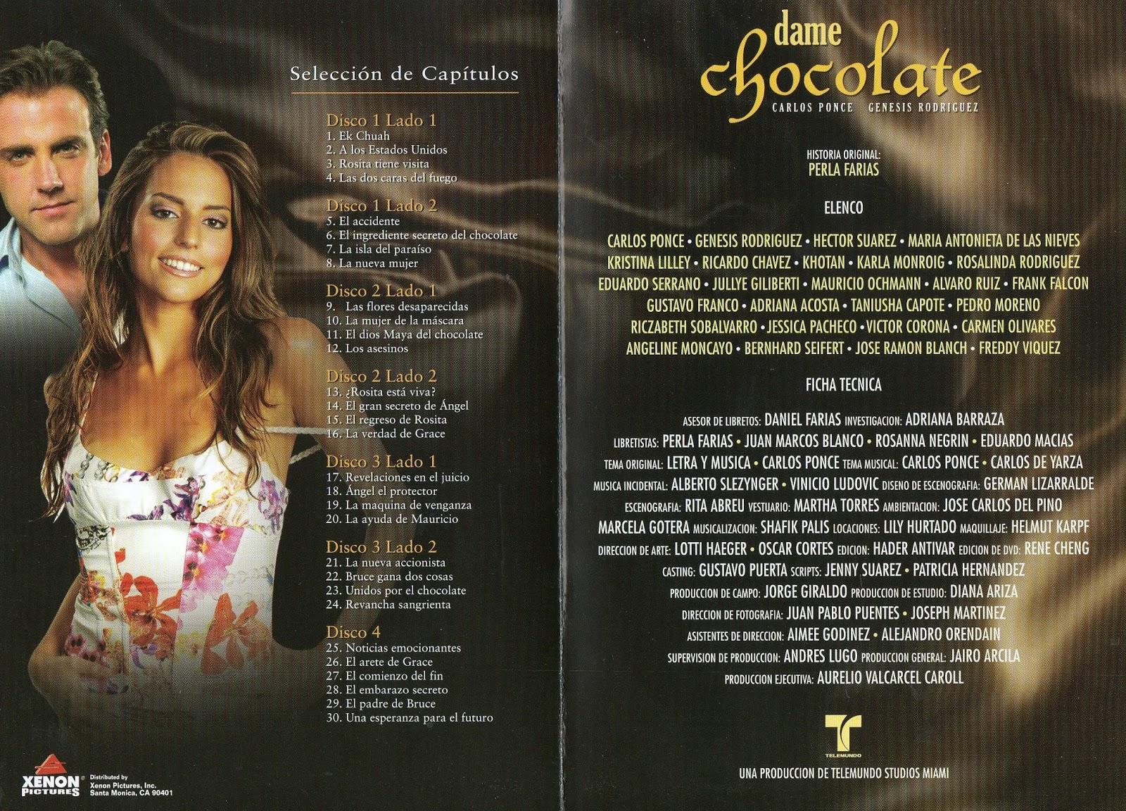 Ben Lacosta blogja: SOROZATAJÁNLÓ: Dame chocolate