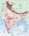 India River Map in Hindi - भारत की नदियों का नक्शा