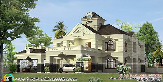 Colonial model proposed house at Kozhikode
