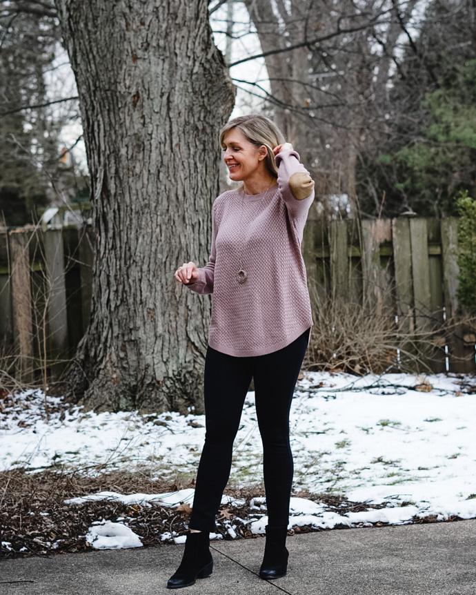 Stitch Fix Elbow Patch Sweater