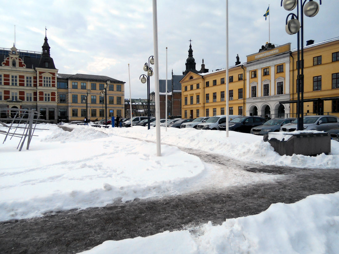 Stora Torget i Kristianstad