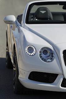 bentley gtc glacier white cabriolet sportcar