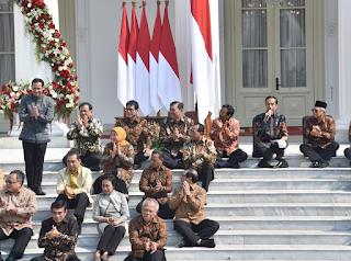 Susunan Kabinet Indonesia Maju 2019-2024