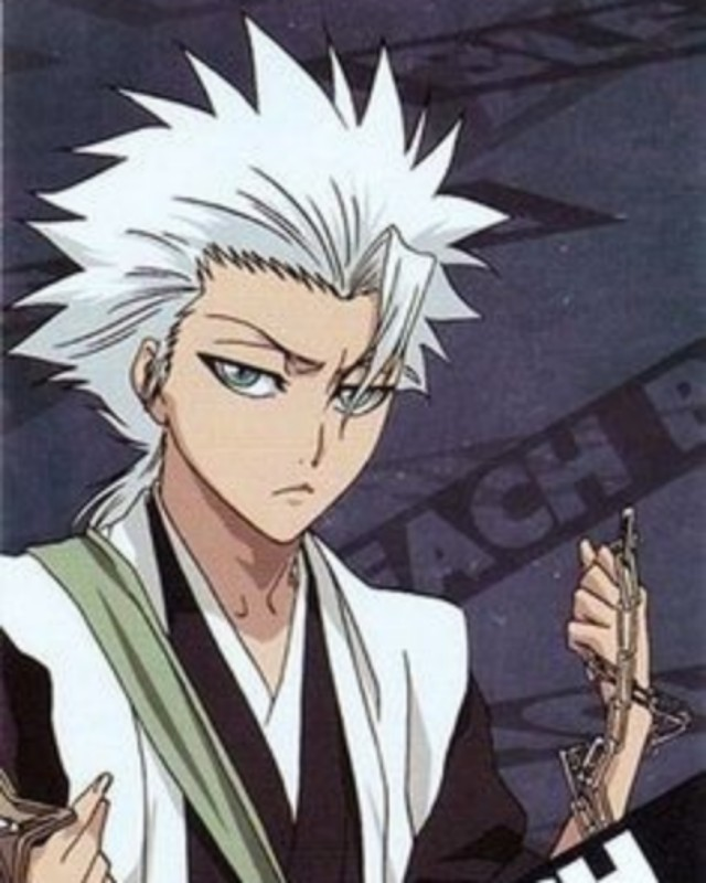 Toshiro Hitsugaya (Bleach) anime man image.