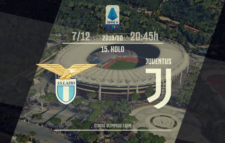 Serie A 2019/20 / 15. kolo / Lazio - Juventus, subota, 20:45h