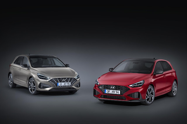 New Hyundai i30 and i30 N Line