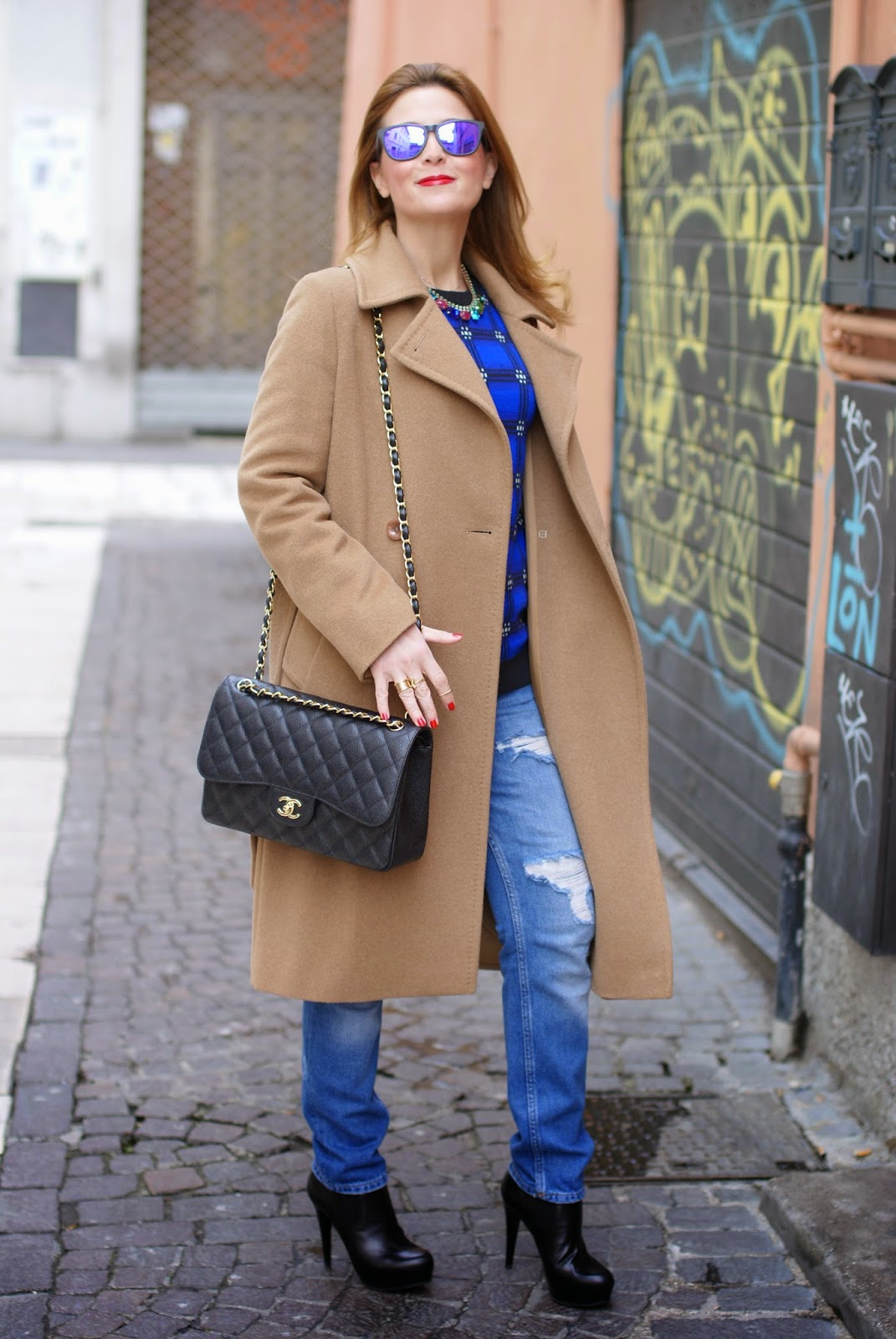 2c43dc4d0b84d2 Max Mara camel belted coat   Fashion and Cookies   Bloglovin'