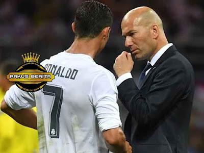 Zidane Mengatakan Bahwa Kondisi Ronaldo Saat Ini Sudah Siap 100% Untuk El Clasico