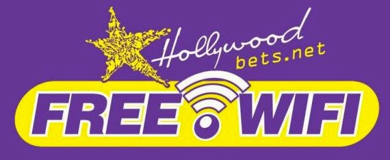 Free WiFi at selected Hollywoodbets Branches in South Africa