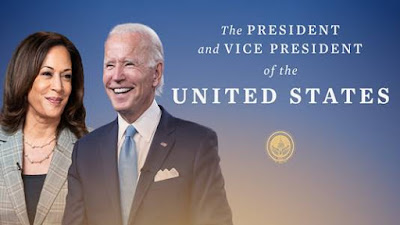 "Foto : Inaugurasi Biden 2021 di Balik Slogan ""Keep The Faith"""