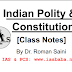 Indian Polity & Constitution Class Notes PDF by Roman Saini