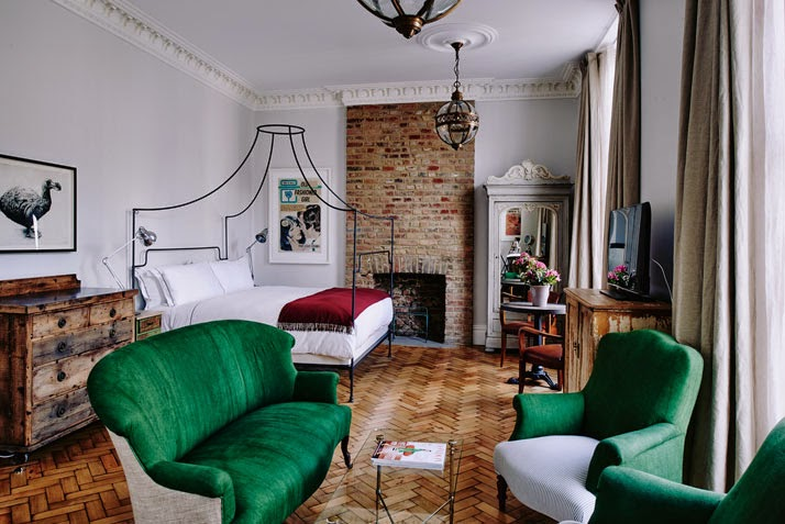 Authentic and Eccentric: New Artist Residence Hotel in London