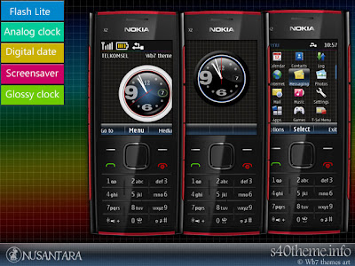 Premium & free theme for Nokia X2-00, X2-02, X2-05