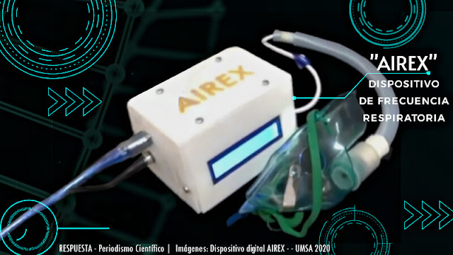 AIREX, dispositivo que mide la frecuencia respiratoria en segundos