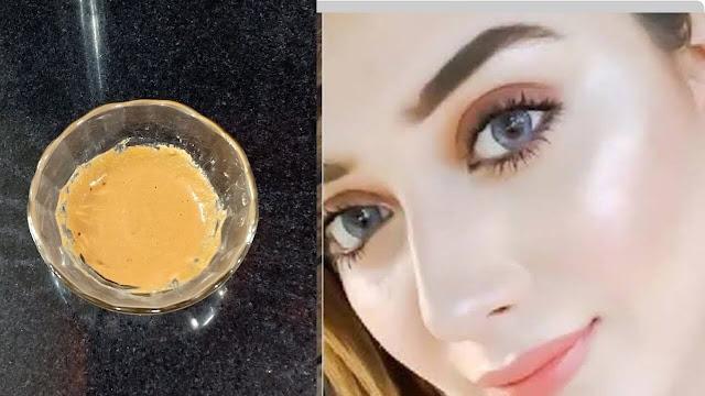 وصفة طبيعية مجربة لتبييض الوجه وإزالة التجاعيد