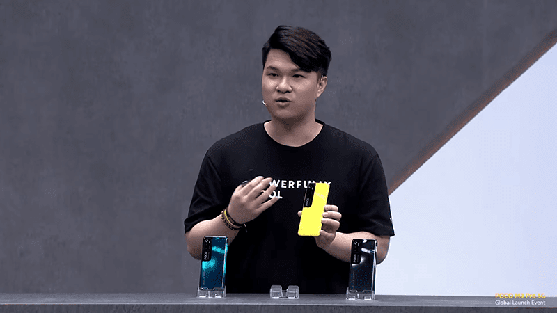 All 3 colors of the POCO M3 Pro 5G