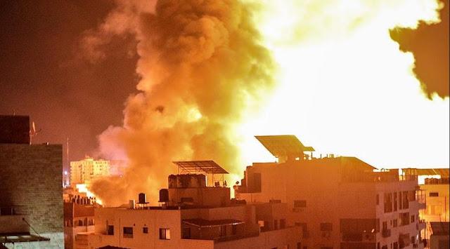 Innalillahi, Serangan Udara Israel Hancurkan Laboratorium Covid di Gaza
