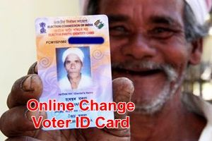Online form for transferring the electoral card from one state to another state very easily.
