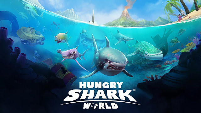 Hungry Shark World v2.4.2 Android Mod Apk Download