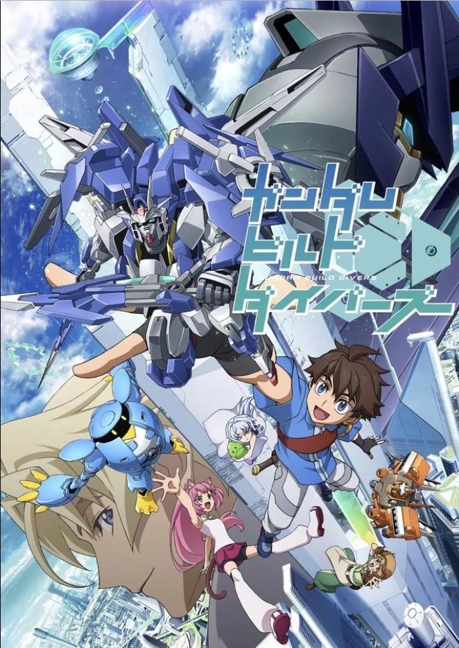 Gundam Build Divers Batch Subtitle Indonesia