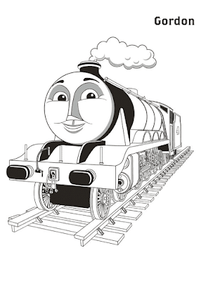 Gambar Mewarnai Thomas and Friends - 27